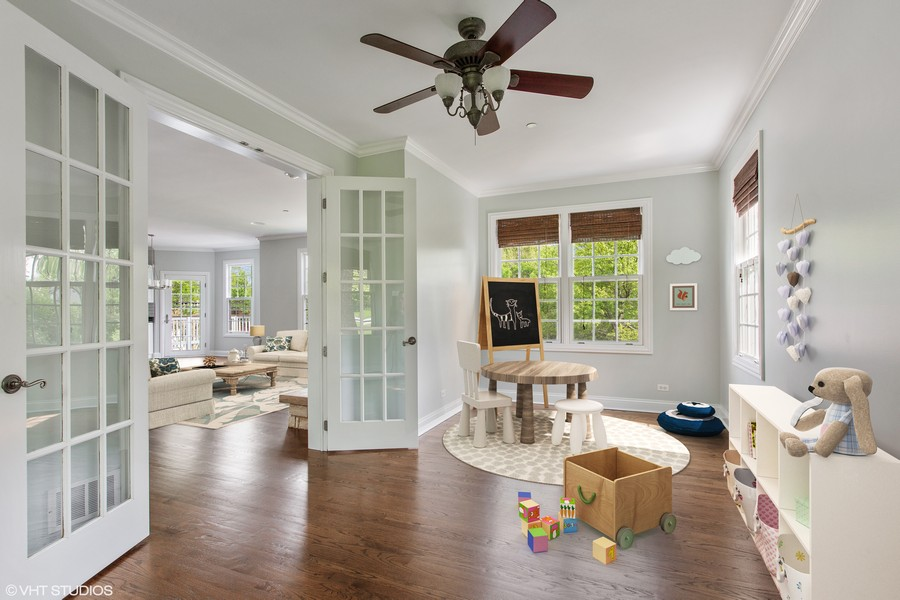 Real Estate Photography - 410 Traube Ave., Clarendon Hills, IL, 60514 - Kid's Play Room or Office
