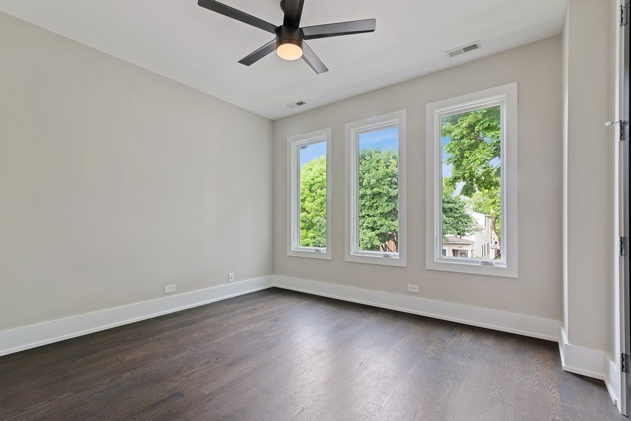 Real Estate Photography - 3321 N Oakley, Chicago, IL, 60618 - 3rd Bedroom