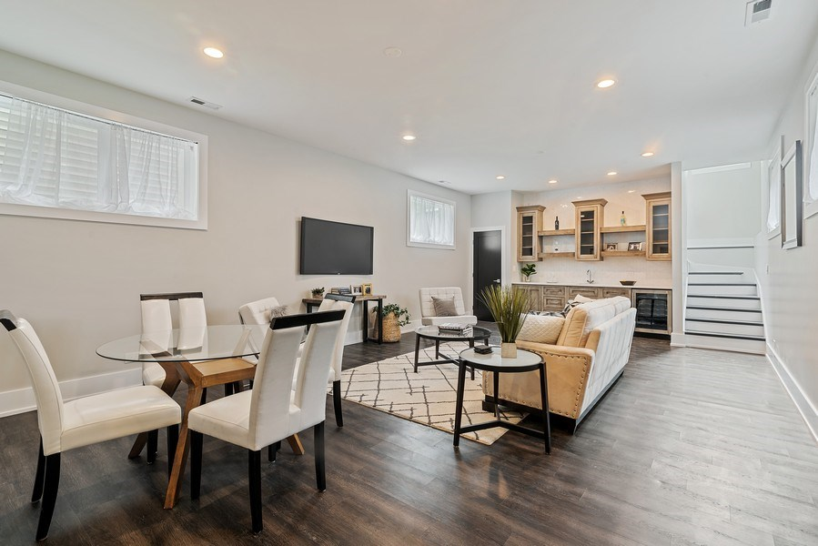 Real Estate Photography - 3321 N Oakley, Chicago, IL, 60618 - Lower Level