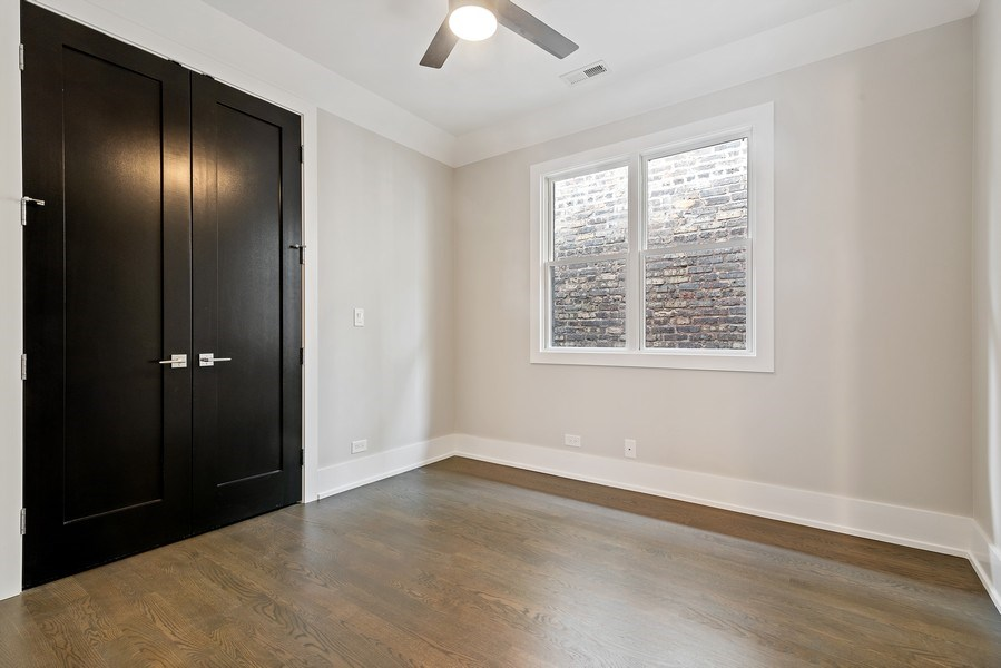 Real Estate Photography - 3321 N Oakley, Chicago, IL, 60618 - Bedroom