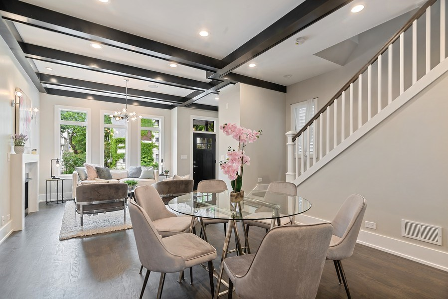 Real Estate Photography - 3321 N Oakley, Chicago, IL, 60618 - Dining Room