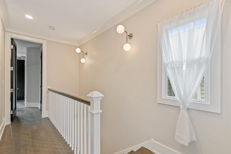 Real Estate Photography - 3321 N Oakley, Chicago, IL, 60618 - Hallway