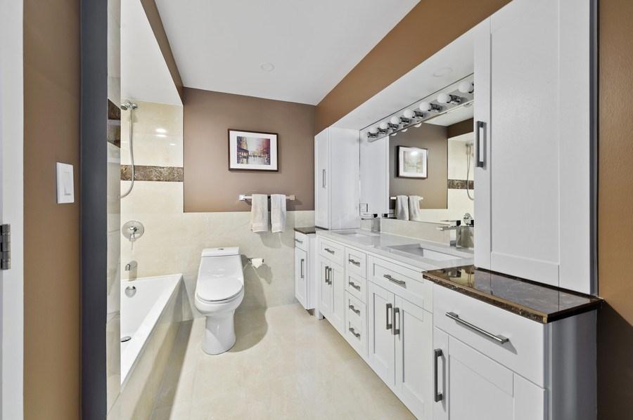 Real Estate Photography - 1440 N Lakeshore Drive Unit 12E, Chicago, IL, 60610 - Master Bathroom