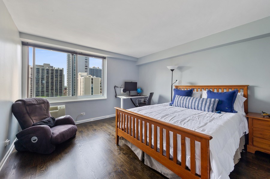 Real Estate Photography - 1440 N Lakeshore Drive Unit 12E, Chicago, IL, 60610 - 2nd Bedroom