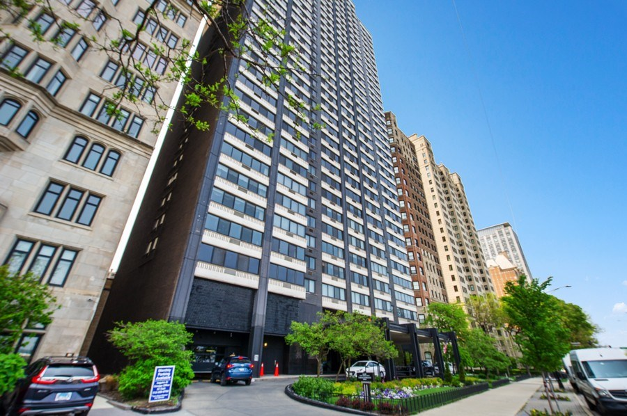 Real Estate Photography - 1440 N Lakeshore Drive Unit 12E, Chicago, IL, 60610 - Front View