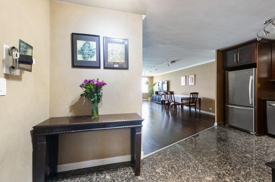 Real Estate Photography - 1440 N Lakeshore Drive Unit 12E, Chicago, IL, 60610 - Foyer