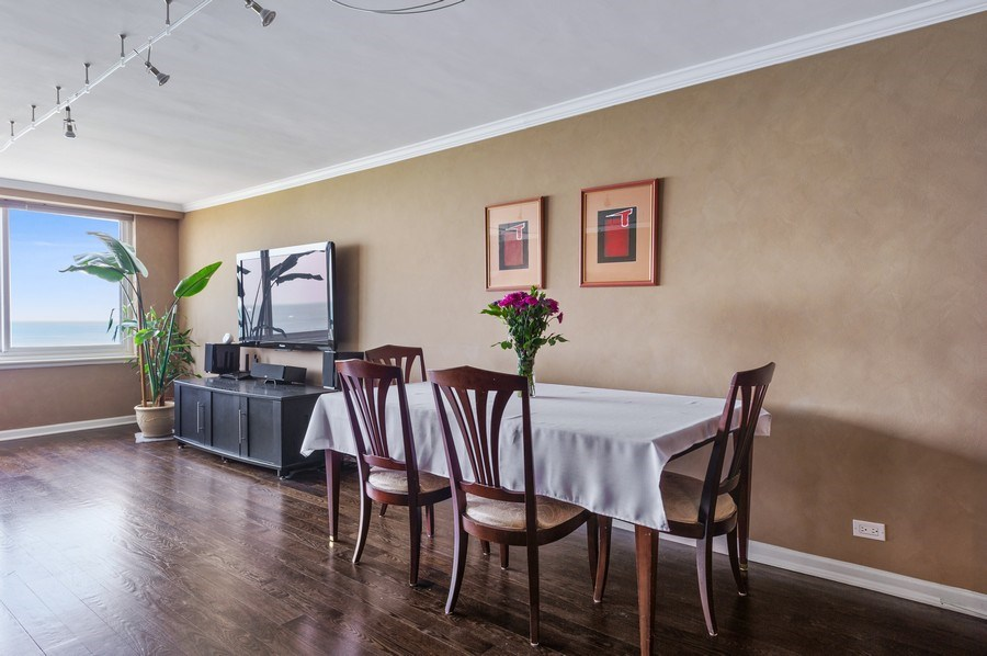 Real Estate Photography - 1440 N Lakeshore Drive Unit 12E, Chicago, IL, 60610 - Dining Room