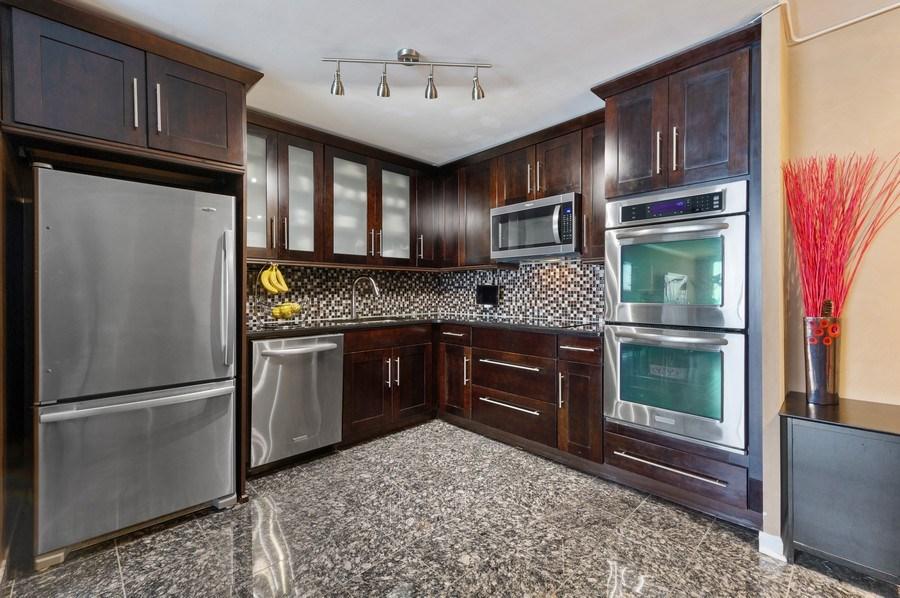 Real Estate Photography - 1440 N Lakeshore Drive Unit 12E, Chicago, IL, 60610 - Kitchen