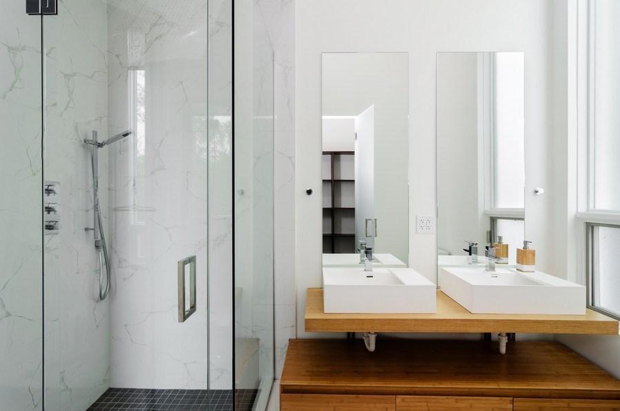 Real Estate Photography - 1137 North Leavitt, 3, Chicago, IL, 60642 - Master Bathroom