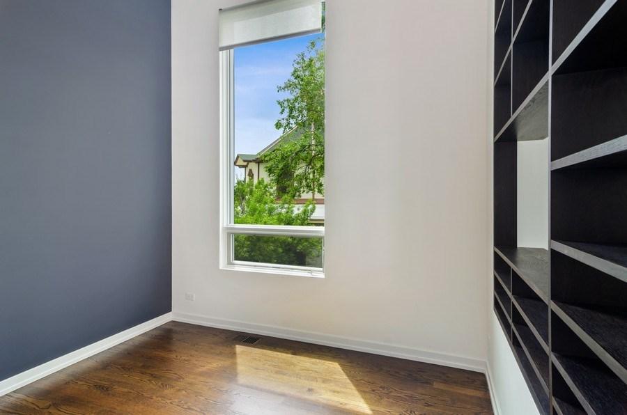 Real Estate Photography - 1137 North Leavitt, 3, Chicago, IL, 60642 - Den