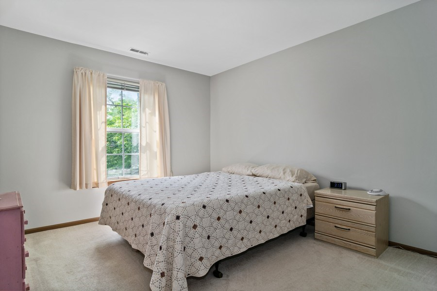 Real Estate Photography - 341 Newport Ln, Unit C2, Bartlett, IL, 60103 - Master Bedroom
