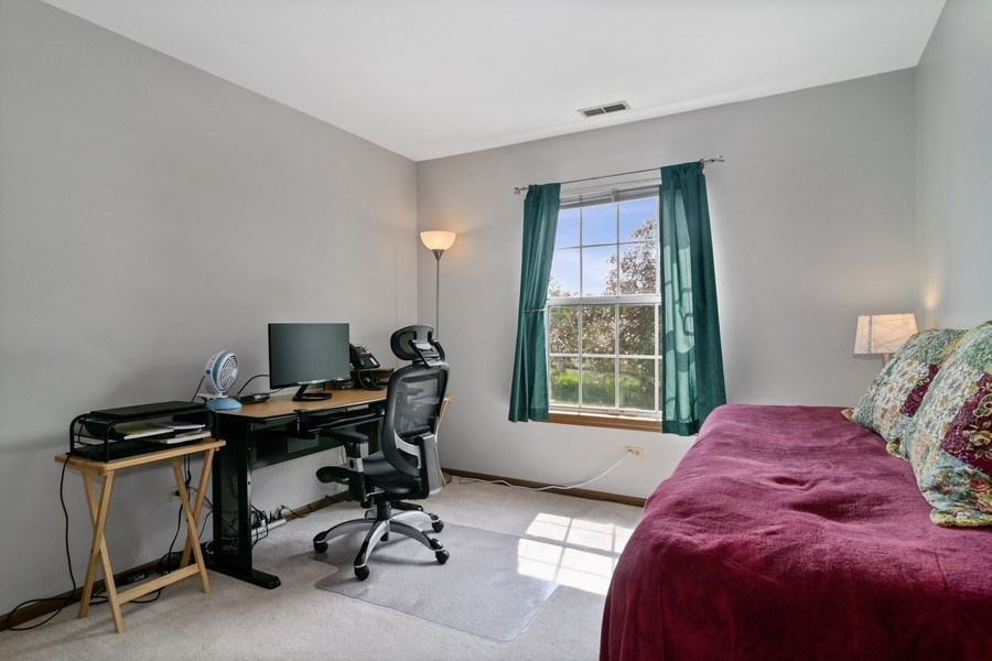 Real Estate Photography - 341 Newport Ln, Unit C2, Bartlett, IL, 60103 - Bedroom