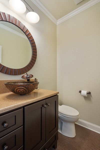 Real Estate Photography - 21514 W Hummingbird Court, Kildeer, IL, 60047 - Powder Room