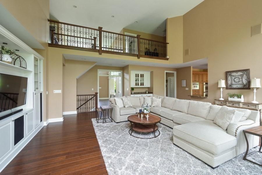 Real Estate Photography - 21514 W Hummingbird Court, Kildeer, IL, 60047 - Family Room