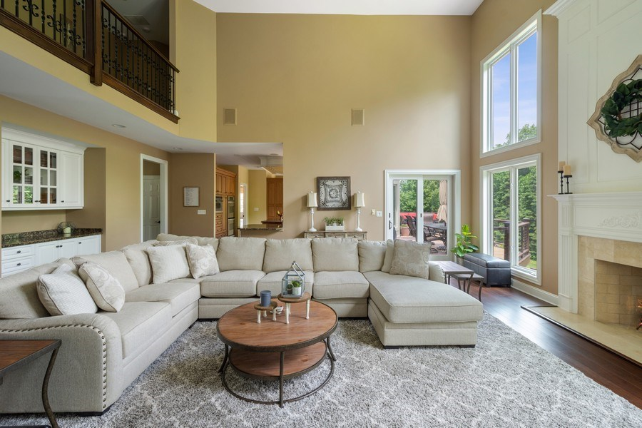 Real Estate Photography - 21514 W Hummingbird Court, Kildeer, IL, 60047 - Great room
