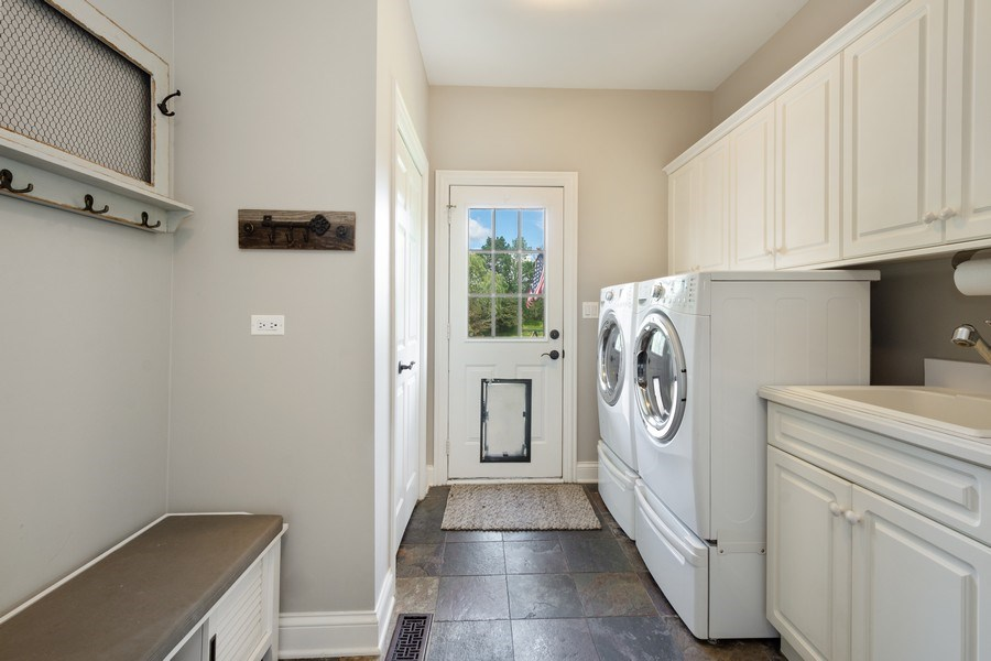 Real Estate Photography - 21514 W Hummingbird Court, Kildeer, IL, 60047 - Laundry Room