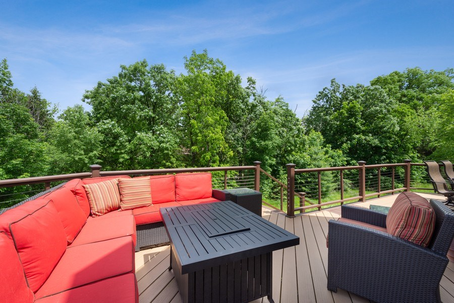 Real Estate Photography - 21514 W Hummingbird Court, Kildeer, IL, 60047 - Deck
