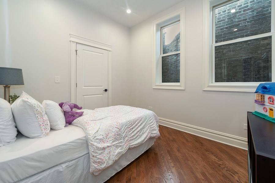 Real Estate Photography - 2140 W. Moffat Street, Chicago, IL, 60647 - 3rd Bedroom