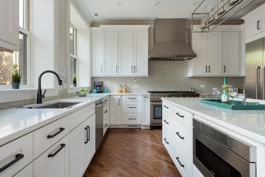 Real Estate Photography - 2140 W. Moffat Street, Chicago, IL, 60647 - Kitchen