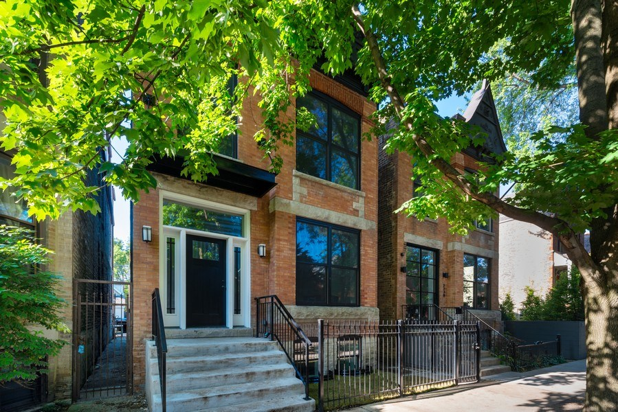 Real Estate Photography - 2140 W. Moffat Street, Chicago, IL, 60647 - Front View