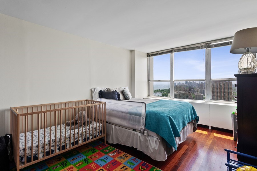 Real Estate Photography - 655 W Irving Park Unit 4601, Chicago, IL, 60613 - 2nd Bedroom