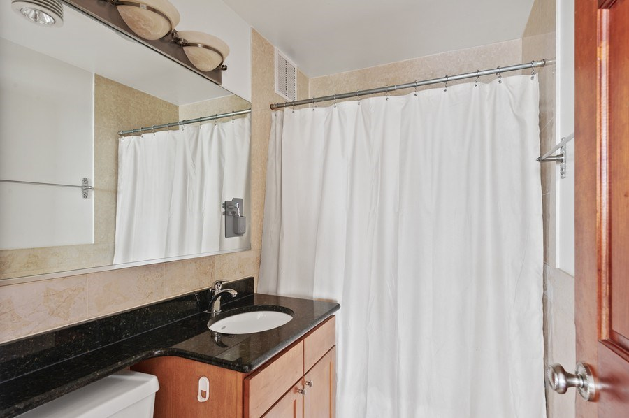 Real Estate Photography - 655 W Irving Park Unit 4601, Chicago, IL, 60613 - 2nd Bathroom