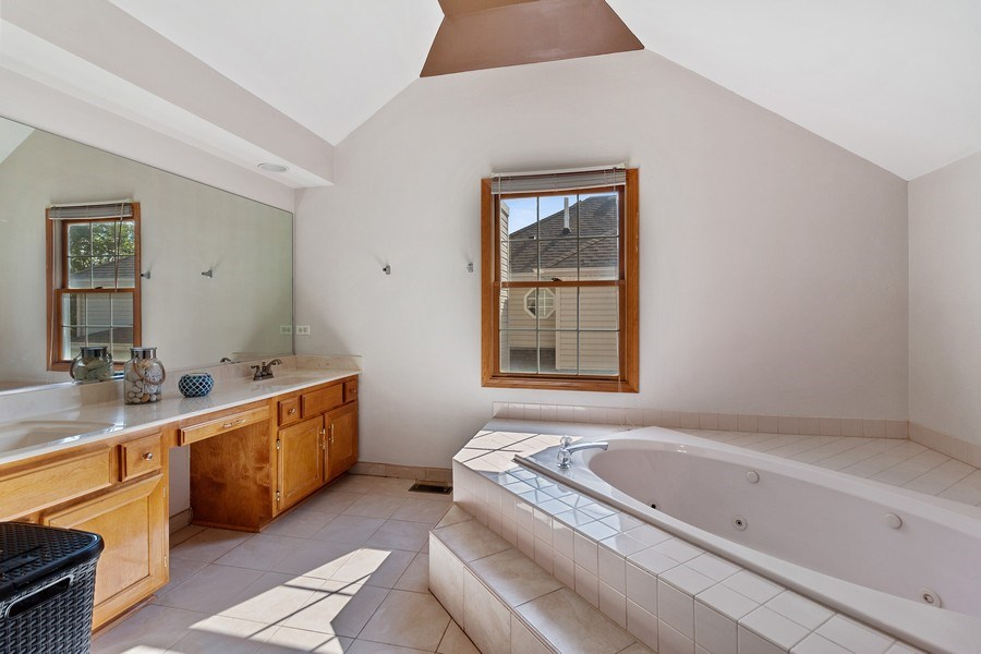 Real Estate Photography - 17 Yukon Ct, Bolingbrook, IL, 60490 - Master Bathroom