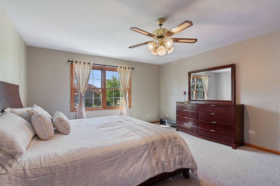 Real Estate Photography - 17 Yukon Ct, Bolingbrook, IL, 60490 - Master Bedroom