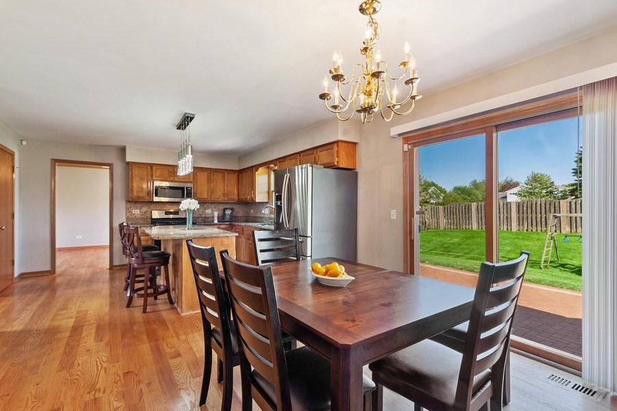 Real Estate Photography - 17 Yukon Ct, Bolingbrook, IL, 60490 - Kitchen / Breakfast Room
