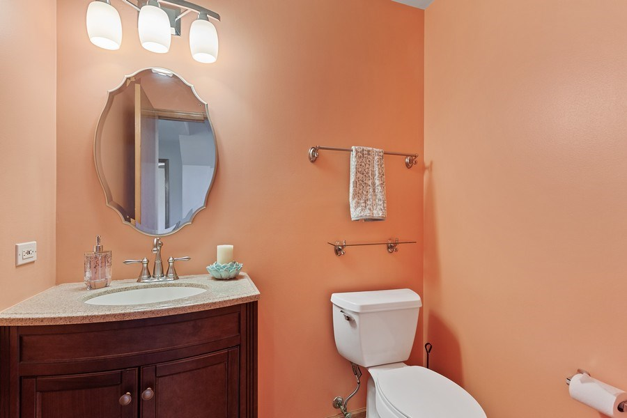 Real Estate Photography - 17 Yukon Ct, Bolingbrook, IL, 60490 - Powder Room