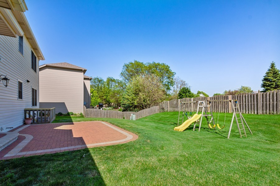 Real Estate Photography - 17 Yukon Ct, Bolingbrook, IL, 60490 - Back Yard