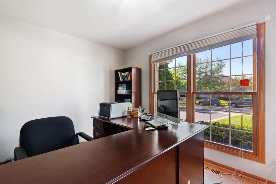 Real Estate Photography - 17 Yukon Ct, Bolingbrook, IL, 60490 - Office