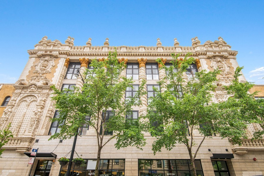 Real Estate Photography - 1635 W. Belmont #617, Chicago, IL, 60657 - Front View
