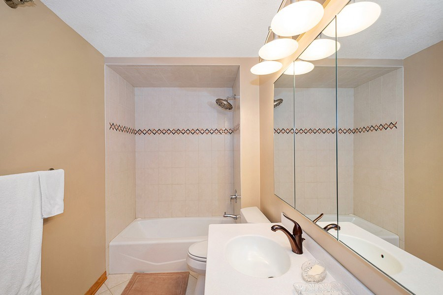 Real Estate Photography - 195 N Harbor Dr, 5201, Chicago, IL, 60601 - Master Bathroom