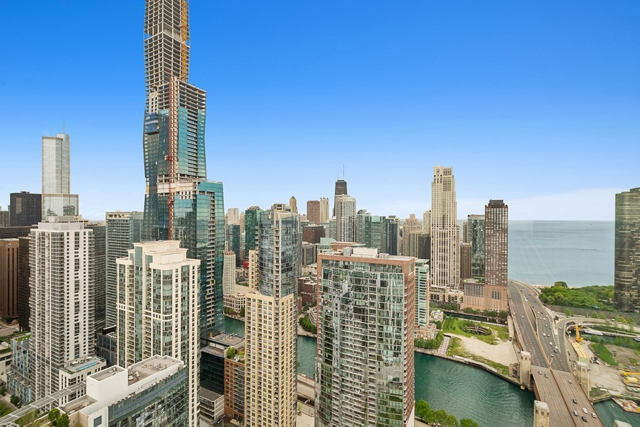 Real Estate Photography - 195 N Harbor Dr, 5201, Chicago, IL, 60601 - View