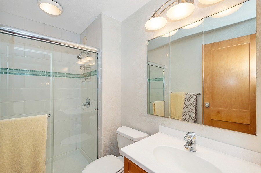 Real Estate Photography - 195 N Harbor Dr, 5201, Chicago, IL, 60601 - Bathroom