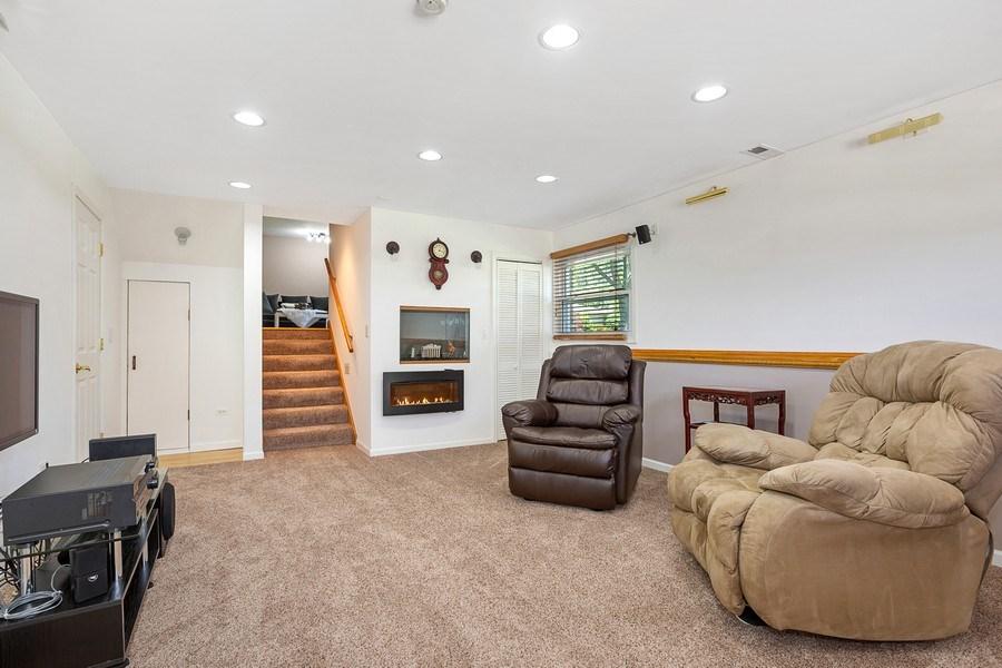 Real Estate Photography - 264 E. Fullerton Ave., Elmhurst, IL, 60126 - Family Room