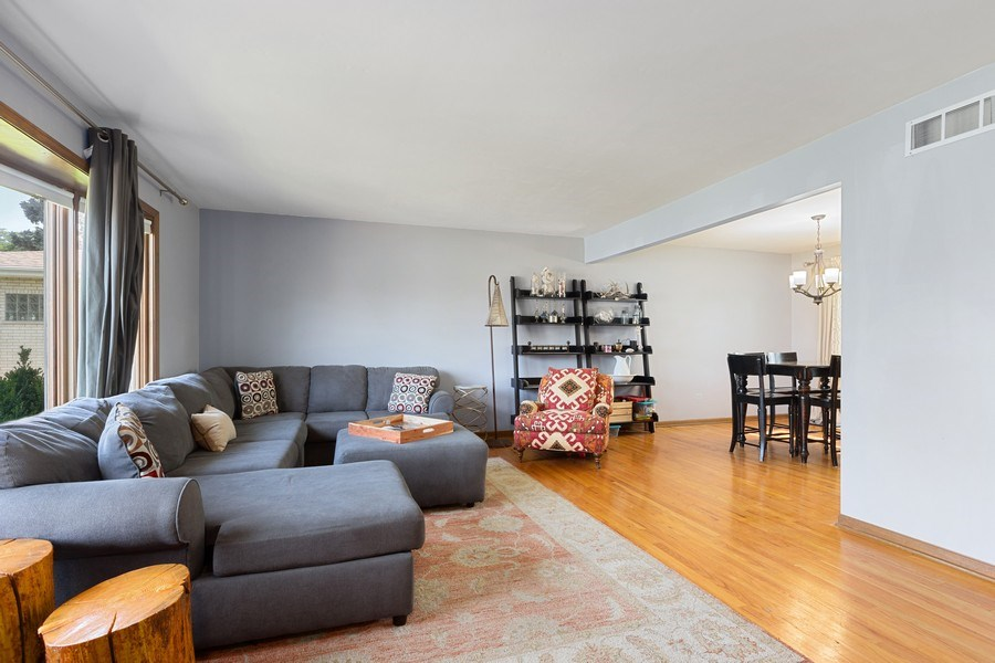 Real Estate Photography - 7701 Blackberry Lane, Willowbrook, IL, 60527 - Living Room (alternate view)