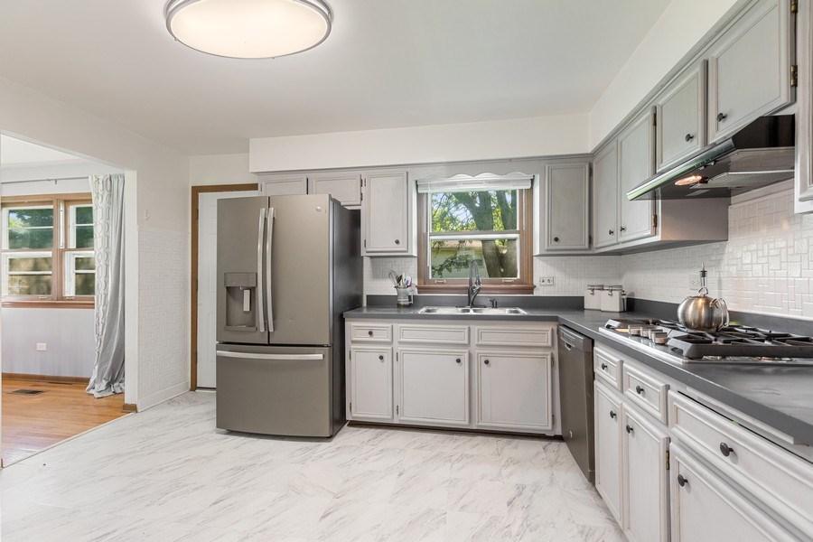 Real Estate Photography - 7701 Blackberry Lane, Willowbrook, IL, 60527 - Kitchen