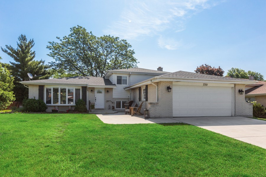 Real Estate Photography - 7701 Blackberry Lane, Willowbrook, IL, 60527 - Front View