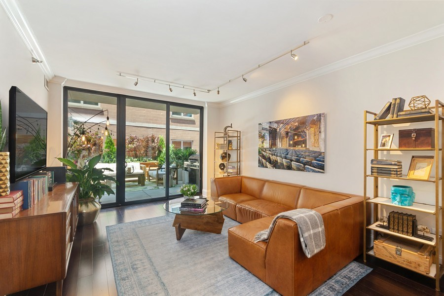 Real Estate Photography - 744 N. Clark St., Apt. 304, Chicago, IL, 60654 - Living Room
