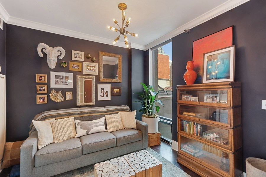 Real Estate Photography - 744 N. Clark St., Apt. 304, Chicago, IL, 60654 - Bedroom
