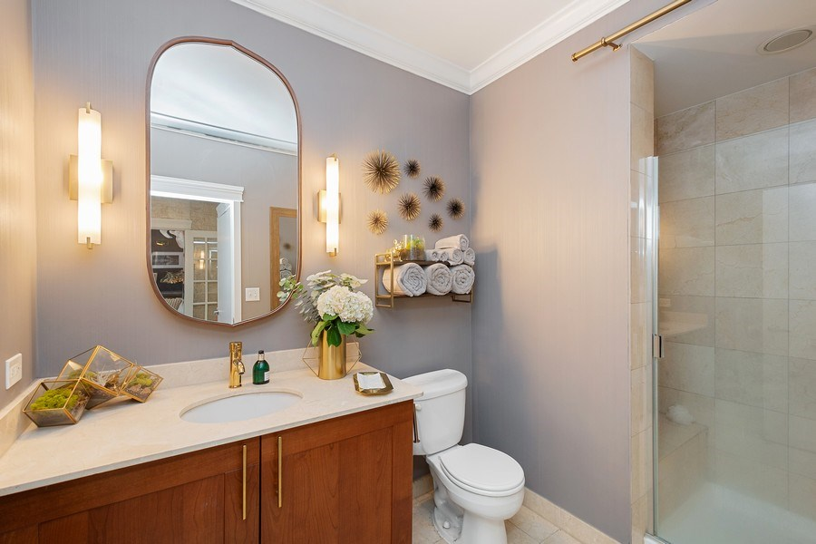 Real Estate Photography - 744 N. Clark St., Apt. 304, Chicago, IL, 60654 - Bathroom