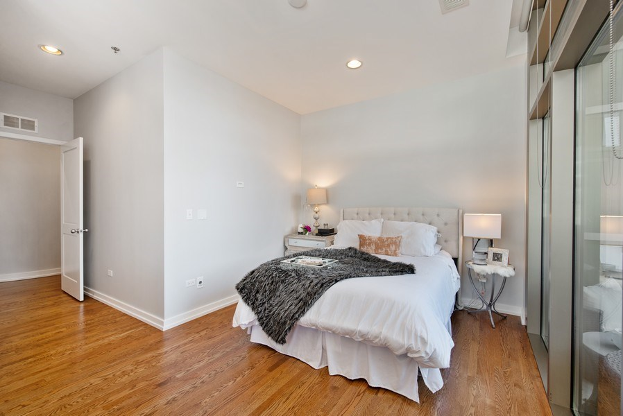 Real Estate Photography - 150 W. Superior St., 702, Chicago, IL, 60654 - 2nd Bedroom