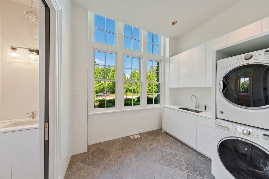 Real Estate Photography - 610 S Oak St, Hinsdale, IL, 60521 - Mudroom