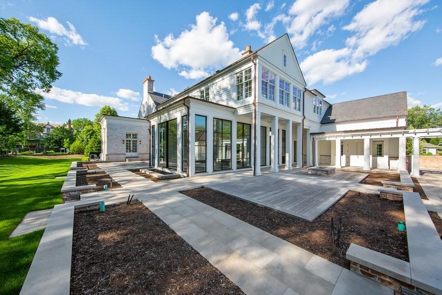 Real Estate Photography - 610 S Oak St, Hinsdale, IL, 60521 - Patio