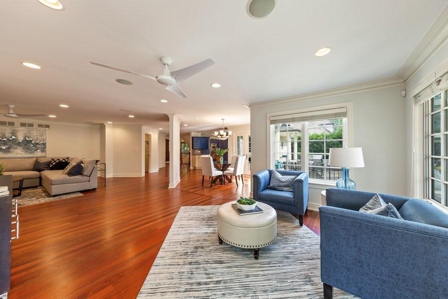 Real Estate Photography - 6012 Sedgley Ct, Burr Ridge, IL, 60527 - Living Room