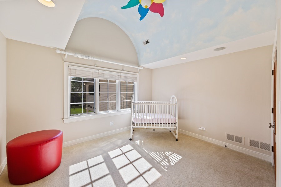 Real Estate Photography - 6012 Sedgley Ct, Burr Ridge, IL, 60527 - 2nd Bedroom