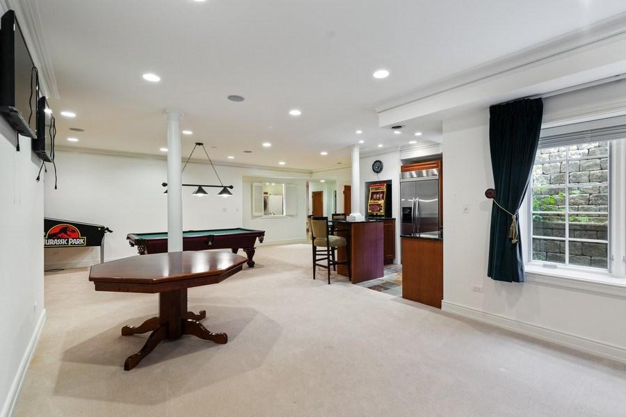 Real Estate Photography - 6012 Sedgley Ct, Burr Ridge, IL, 60527 - Lower Level