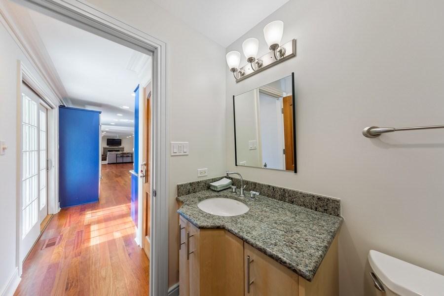 Real Estate Photography - 6012 Sedgley Ct, Burr Ridge, IL, 60527 - Powder Room